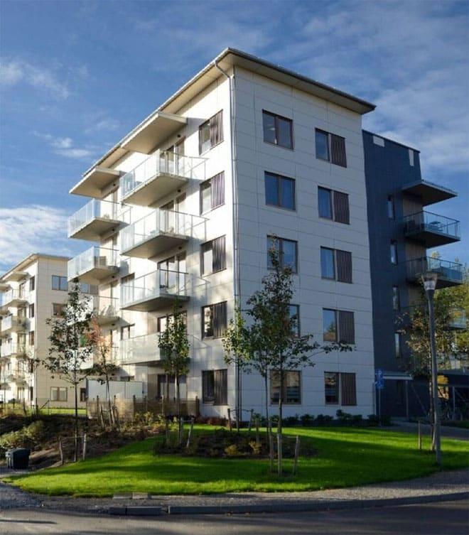 5 Storey apartment